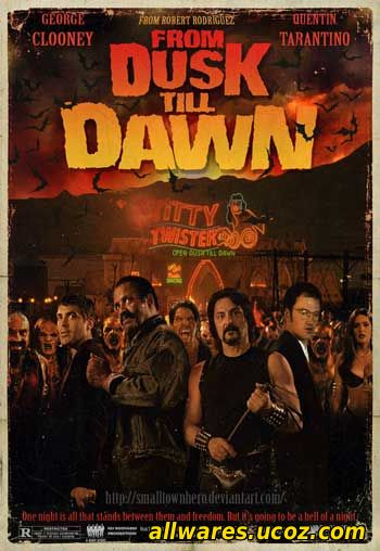 მზის ჩასვლიდან განთიადამდე (ქართულად) / From Dusk Till Dawn (1996)