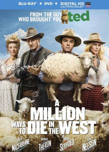 თავის დაკარგვის მილიონი ხერხი / A Million Ways to Die in the West (2014)