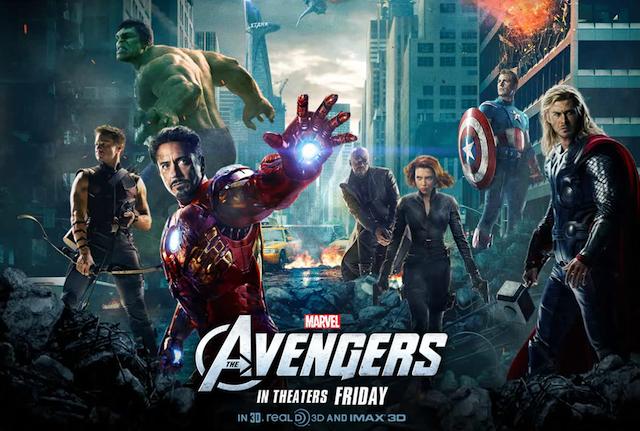 შურისმაძიებლები / The Avengers (2012 )