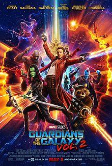 გალაქტიკის მცველები 2 /  Guardians of the Galaxy Vol. 2